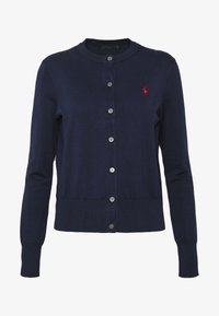 Polo Ralph Lauren - CARDIGAN LONG SLEEVE - Chaqueta de punto - bright navy - 4