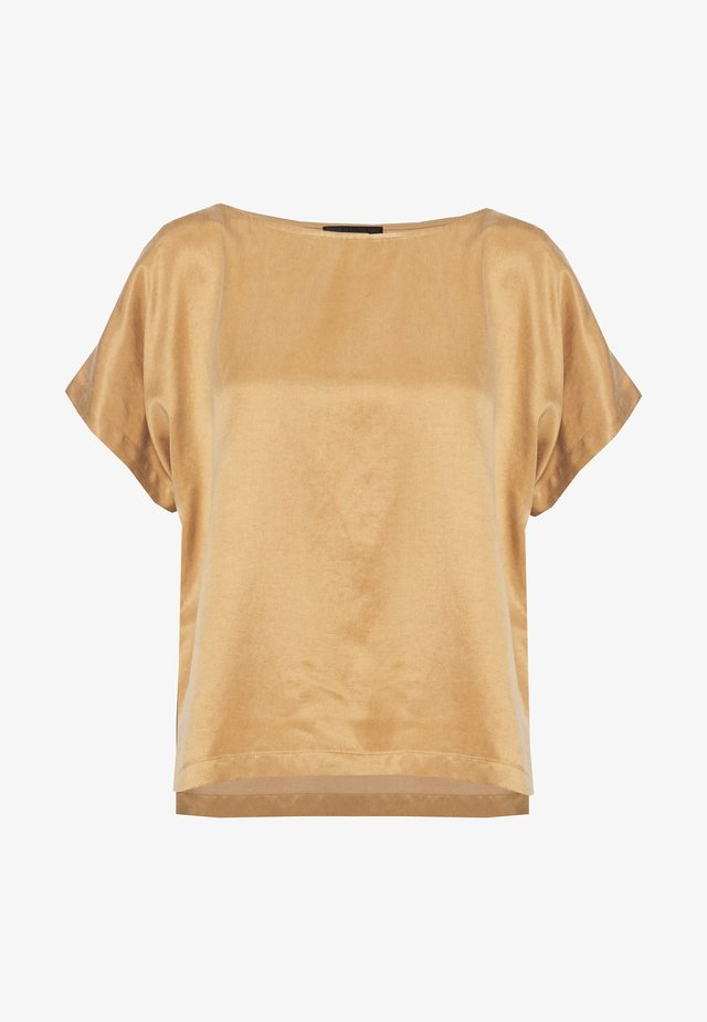 SOMIA - T-Shirt basic - braun