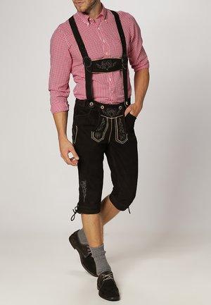 Kožené kalhoty - braun
