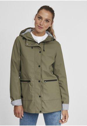 BECKY - Waterproof jacket - olive