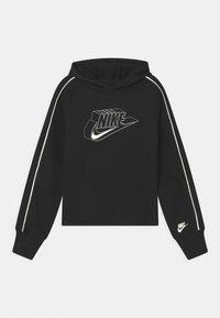 Nike Sportswear - HOODIE - Kapuzenpullover - black/coconut milk - 0