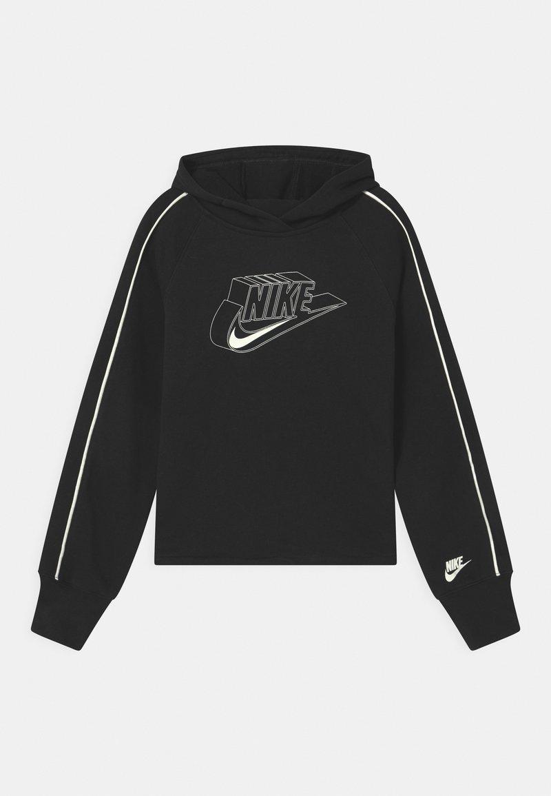 Nike Sportswear - HOODIE - Kapuzenpullover - black/coconut milk