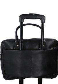Gusti Leder - Briefcase - black - 5