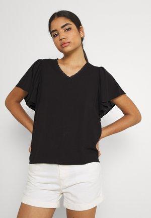 VMNADS TRAPEZ SLEEVE - Print T-shirt - black