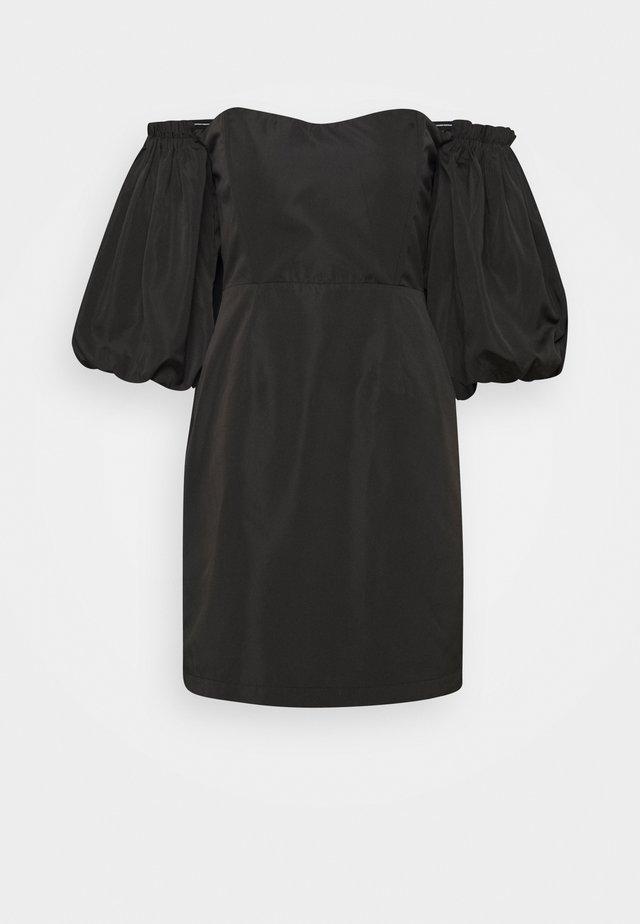 Kjole - black solid