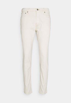 HEM GRINDING - Jeans slim fit - ecru