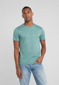 Polo Ralph Lauren - PIMA - T-shirt basic - pine heather - 0