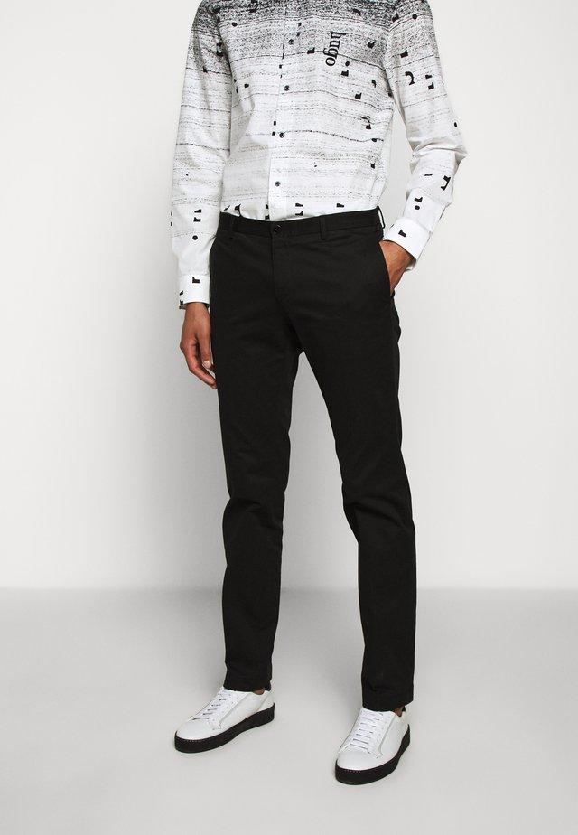 GERALD - Pantalones chinos - black