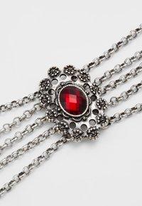 Alpenflüstern - LUZIA - Halsband - silver-coloured/red - 4