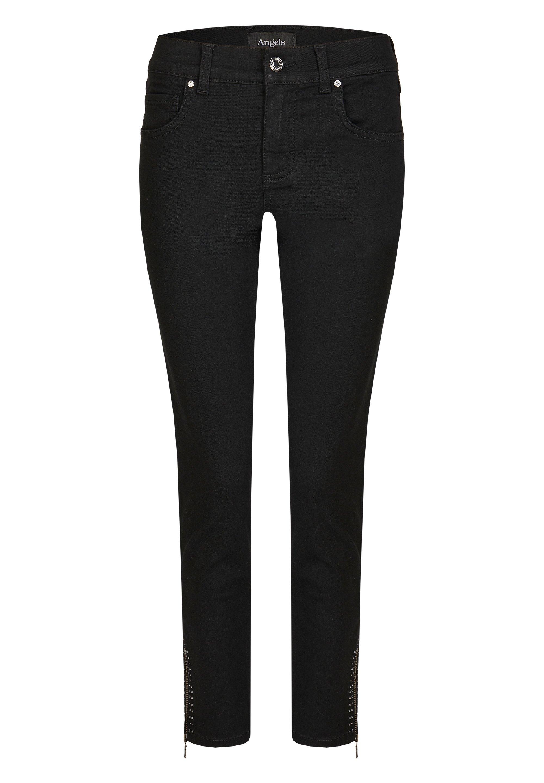 Damen ANKLE ZIP SHINE' MIT MODISCHEN DETAILS - Jeans Skinny Fit