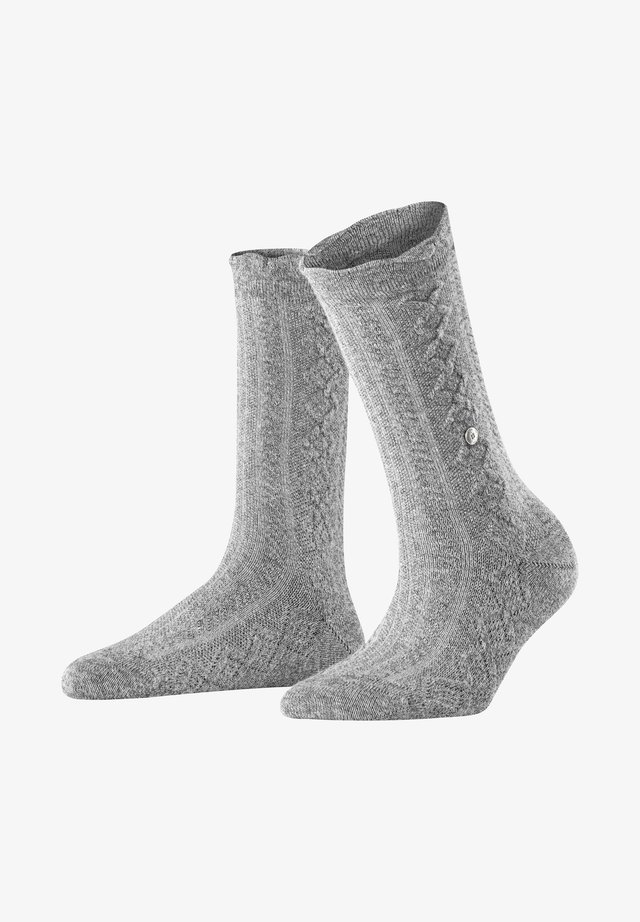 Socks - light greymel