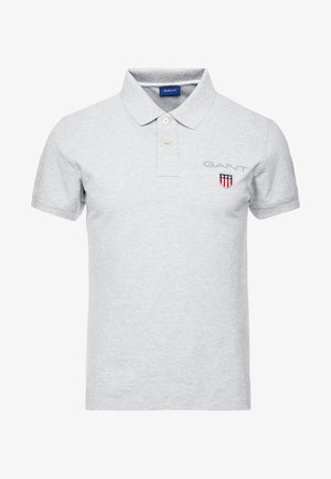 MEDIUM SHIELD RUGGER - Polo shirt - light grey melange