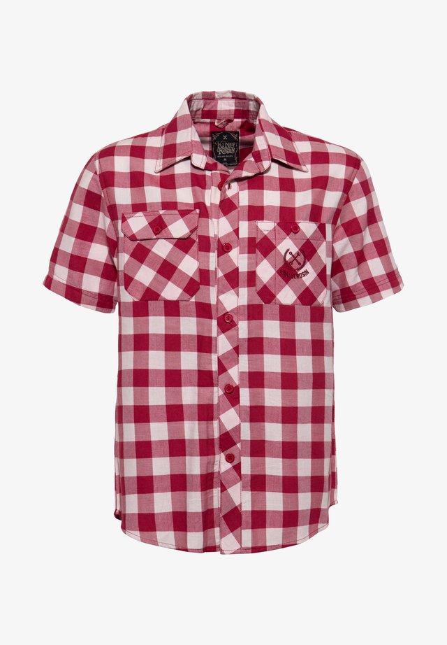MIT VICHYKARO  - Overhemd - rot