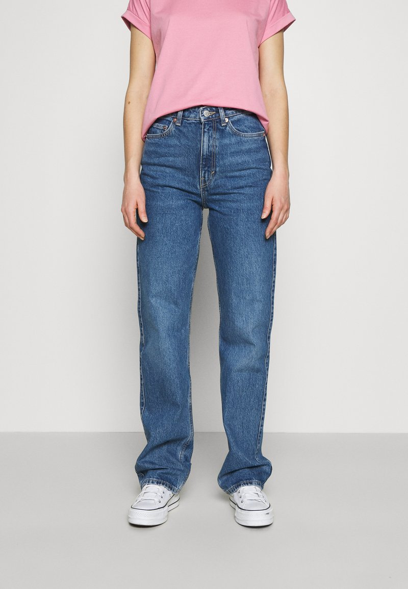 Weekday - ROWE - Jeans straight leg - sea blue