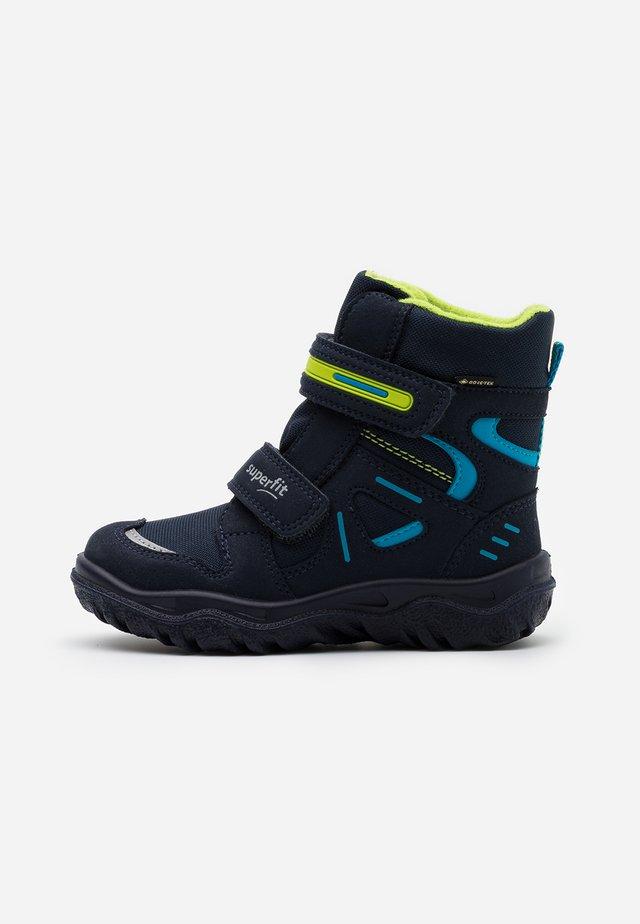 HUSKY - Zimní obuv - blau/grün