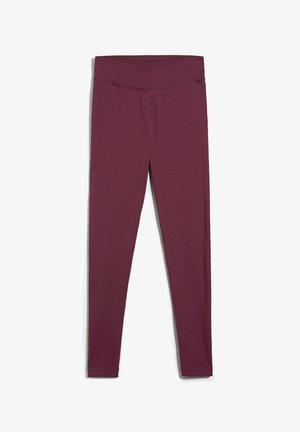 FARIBAA - Legging - ruby red