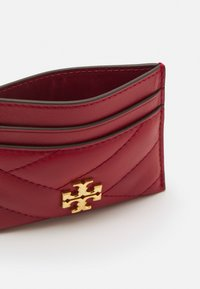 Tory Burch - KIRA CHEVRON CARD CASE - Wallet - redstone - 2