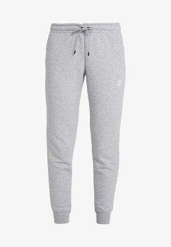 TIGHT - Pantalones deportivos - dark grey heather/white