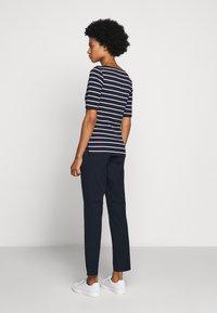 Lauren Ralph Lauren - Print T-shirt - navy/white - 2