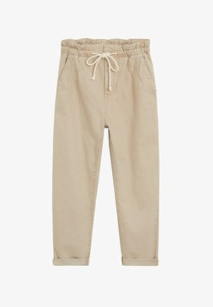 LOOSE - Jeansy Relaxed Fit - beige