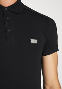 Antony Morato - PLATE ON FRONT - Polo shirt - black - 6