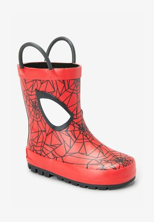 SPIDER-MAN WELLIES (YOUNGER) - Wellies - red