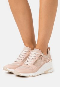 Caprice - LACE UP - Sneakers laag - rose - 0