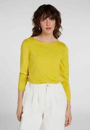 Sweater - warm olive