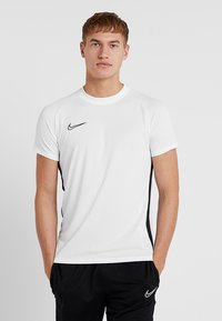 Nike Performance - DRY ACADEMY - Print T-shirt - white/black - 0