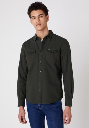 LS 2PKT FLAP - Camicia - rifle green