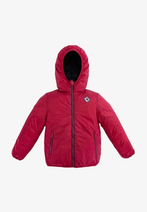 REVERSIBLE HOODED - Veste d'hiver - red