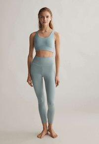 OYSHO - COMFORTLUX  - Tights - turquoise - 1
