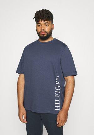 SMALL LOGO TEE - Print T-shirt - blue