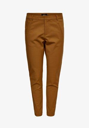 ONLSTRIKE  - Trousers - tobacco brown