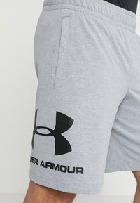 Under Armour - Korte broeken - steel light heather/black - 4