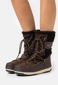 Moon Boot - MONACO MID WP - Winter boots - dark brown - 0