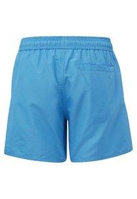 adidas Performance - BADGE OF SPORT PRIMEGREEN REGULAR SWIM SHORTS - Swimming shorts - blue - 1