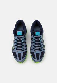 Nike Performance - REAX 8  - Gym- & träningskor - ashen slate/blackened blue/white/electric green/bright mango - 3
