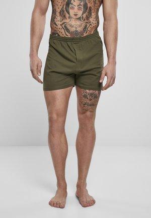Boxer shorts - olive