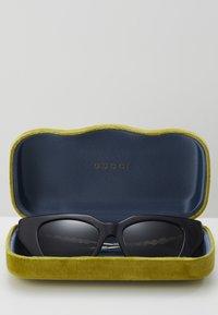Gucci - Sunglasses - black/silver/grey - 4