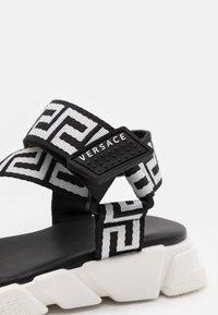 Versace - Sandals - black/white - 5