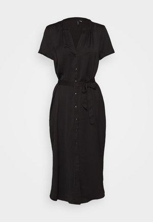 VMALBANA BELT DRESS - Vestito estivo - black