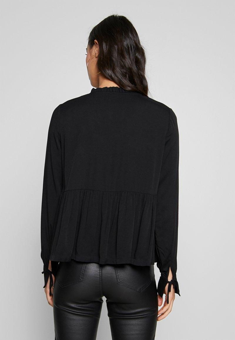Noisy May NMAYTA FLARE - Bluse - black/schwarz I34dZa