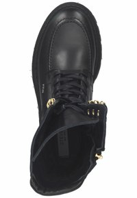 Steven New York - Lace-up boots - black leather - 1