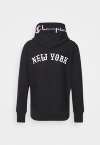 Champion Reverse Weave - HOODED NEW YORK - Sweatshirt - dark blue - 7