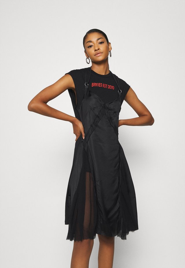 ALISHA DRESS - Jersey dress - black