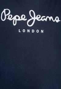 Pepe Jeans - ART - Print T-shirt - navy - 2