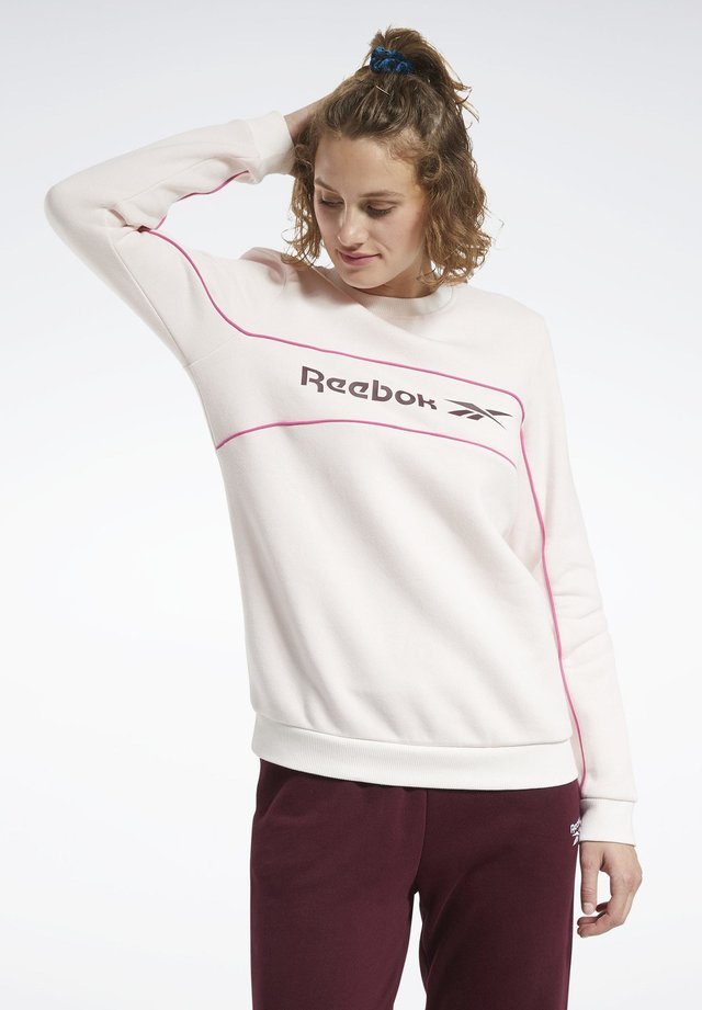 CLASSICS LINEAR CREW SWEATSHIRT - Sweatshirt - pink