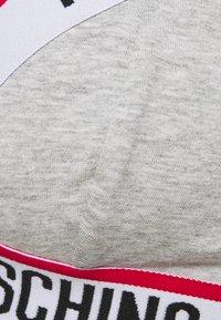 Moschino Underwear - BRA - Triangel BH - grey melange - 2