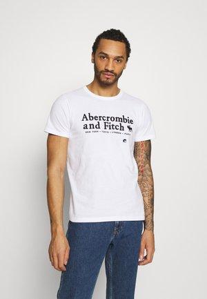 ELEVATED TECH - T-shirt imprimé - white